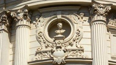 Edificio Modernista. Detalle
