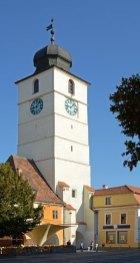 Plaza Grande. Torre del Consejo