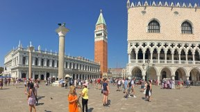 PIazza San Marco hacia el Gran Canal