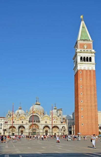 Piazza San Marco: Campanile y Basilica