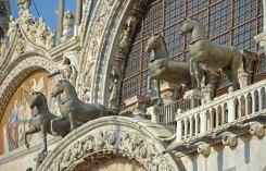 Caballos de bronce de Constantinopla: Portada Basilica San Marcos