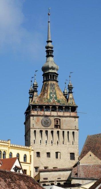 Sighisoara. Torre del Consejo