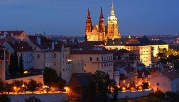 Malá Strana y Catedral de San Vito