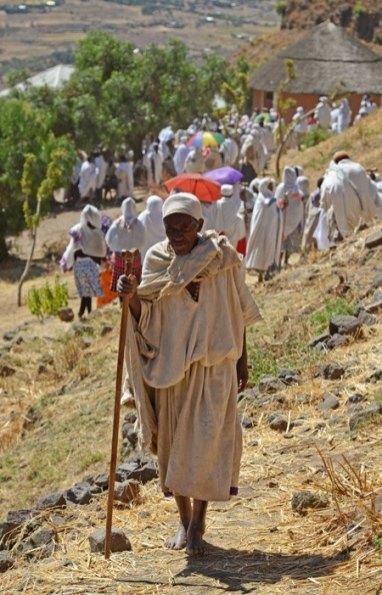 Caminando hacia la Ermita