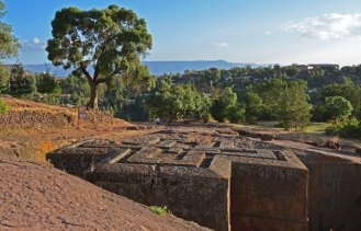 Templo de San Jorge - Patrono de Etiopía