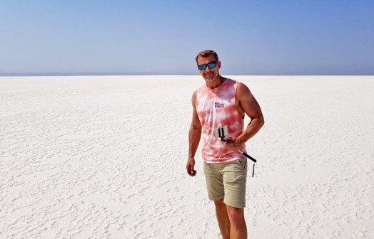 Espejismos en el mar de sal