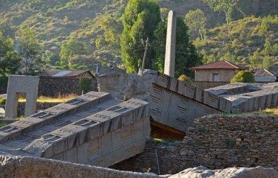 Parque de estelas y obeliscos de Axum