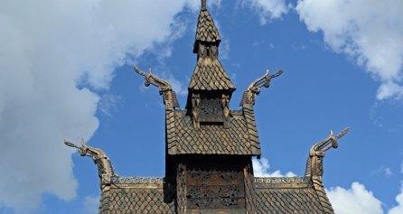 Campanario de la Iglesia de Madera de Borgund