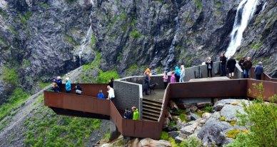 Centro Trollstigen. Mirador