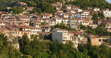 Casco Antiguo. Casas en la Montaña