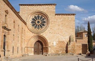 Rosetón gótico de la iglesia