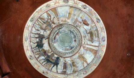 Tumba Kazanluk. Pinturas Bóveda