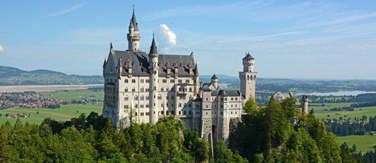 Castillo de Neuschwanstein - Fin de la Ruta Romántica