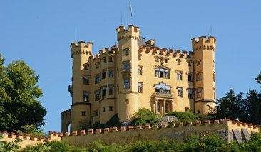 Castillo de Hohenschwangau. Torre
