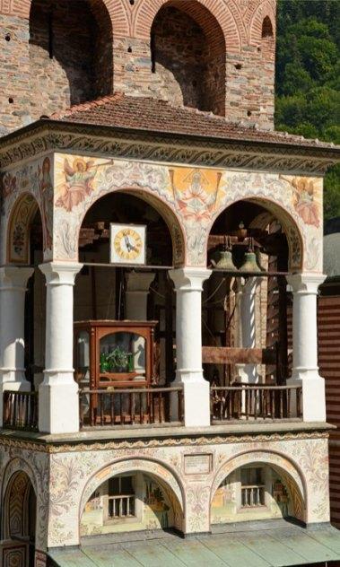 Monasterio de Rila. Torre de Hrelyo