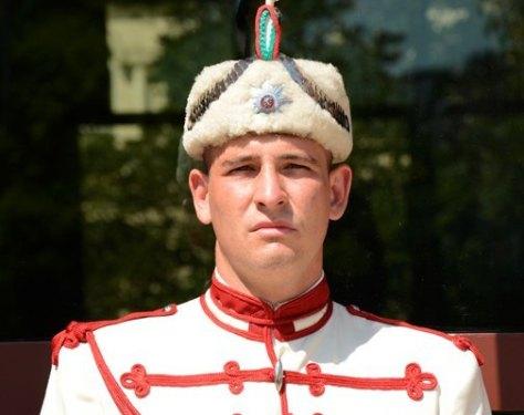 Sofía. Palacio Presidencial. Soldado