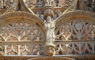 Detalle de la decoración del Baldaquino