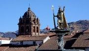 El Inca, Tejados de la Plaza de Armas y Torre de los Mercedarios