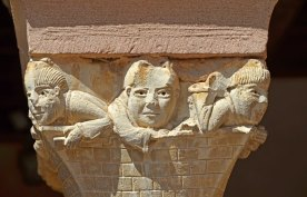Capitel del claustro