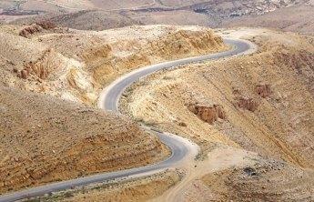 La Ruta del Rey surcando Wadi Mujib