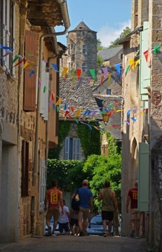 Inicio de la Rue du Chateau