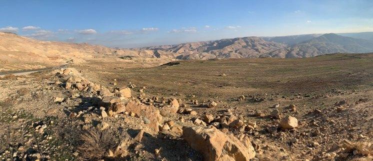 El gran valle de Wadi Hasa
