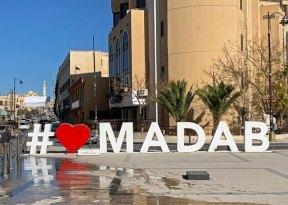 Plaza en Madaba