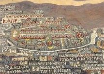 """El famoso """"Mapa de Madaba"""""""