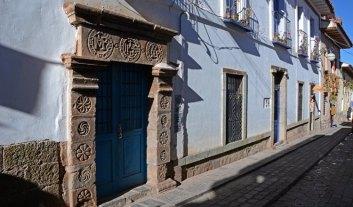 Barrio de San Blas. Calle del Carmen Alto