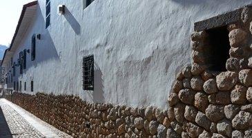 Calle de Loreto. Cimientos Incas