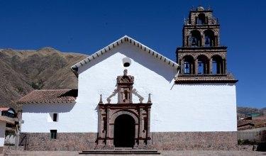 Huaro. Iglesia de San Juan Bautista