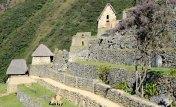 Machu Picchu. Terrazas de Cultivo y Colcas