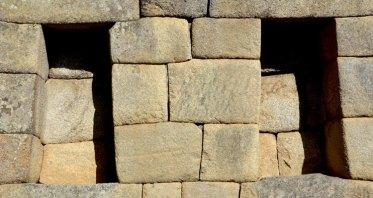 Machu Picchu. Barrio de los Nobles. Altares de las Casas
