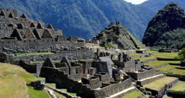 Machu Picchu. Barrio de los Nobles e Intihuatana