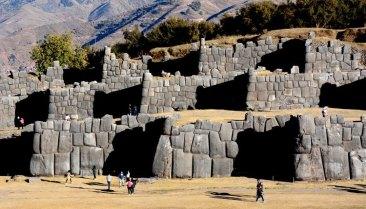 Sacsayhuamán. Murallas Cíclópeas