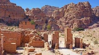 Foro Romano de la ciudad de Petra