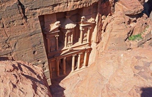 """Templo de """"El Tesoro"""" (Al Khazneth)"""
