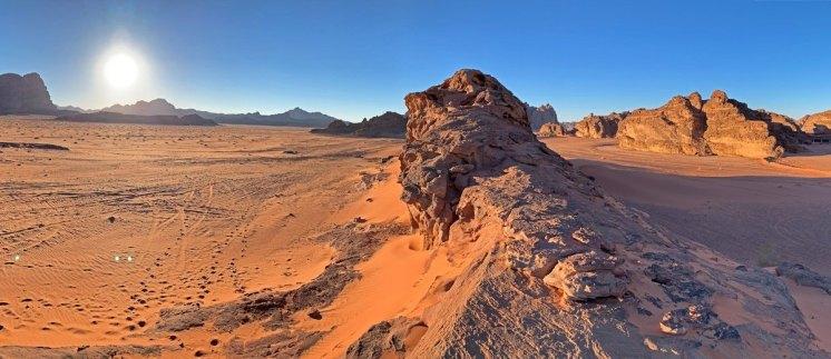 Wadi Rum al atardecer