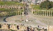 Plaza Oval y Cardus Maximus (Jerash)