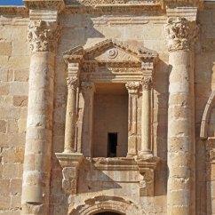 Detalle del Arco de Adriano (Jerash)