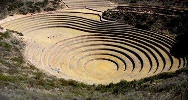 Moray. Anfiteatros de Cultivo