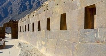 Ollantaytambo. Templo de las 10 Ventanas