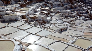 Salinas de Maras. Piscinas de Decantación