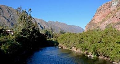 Valle Sagrado. Río Urubamba