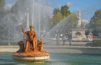 Fuente de Ceres - Jardín del Parterre