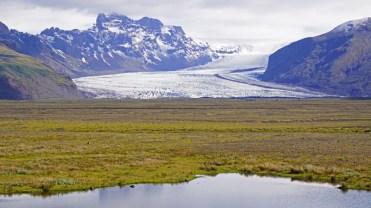 Lengua glacial de Skaftafellsjökull