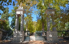 Puerta Monumental - Jardín del Príncipe