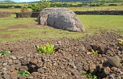 Umu pae y Manavai (Cercos de piedra)