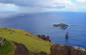 Los islotes de Motu Iti, Motu Nui y Motu Kao Kao