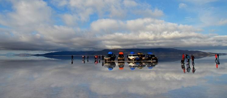 Cerca de la isla Incahuasi - Salar de Uyuni